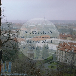 A Journey of 1000 miles must Begin with a Single Step